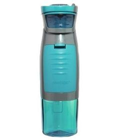 Autoseal Kangaroo water bottle with storage compartent. perfect for working out (=
