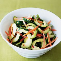 These crisp and cool veggies are for more than simple salads, plus they have amazing healthy benefits. Try them pickled with this Pickled Ginger Cucumber recipe. #summer #salad | Health.com