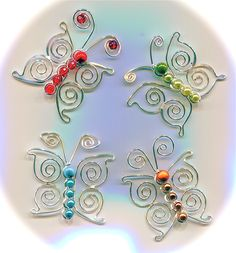 BUTTERFLY PROJECT  *****************************  Possibly one of the most popular motifs in  design, is the BUTTERFLY! It never ceases  to...