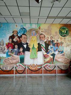 Mural del Poder Judicial del Estado de #Tabasco