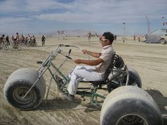 Bike culture is strong at Burning Man by Rock The Bike, via Flickr