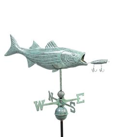 Good Directions Bass & Lure Weathervane