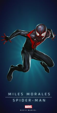 Spider-Man Miles Morales Poster-04