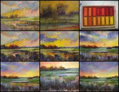How to use oil paints with pastels per Karen Margulis http://www.pinterest.com/kishj/pastels/
