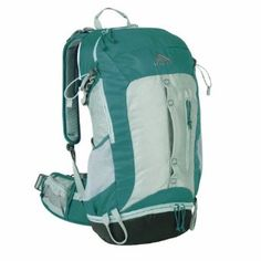 Kelty Women's Impact 30L Backpacking Pack.  $144.95            Heading out on a one night backpacking and camping trip or out for a quick day or two in the backcountry?Look no further than the Women's Kelty Impact 30L Backpacking Pack for all your organizational packing needs. The Kelty Impact offers 30 liters of compartmentalized spa...