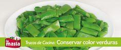 ¡Toma nota de estos #trucos para conservar el #color de las #verduras al cocerlas!