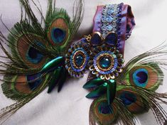 Beautiful headpiece. Stacy would love this.