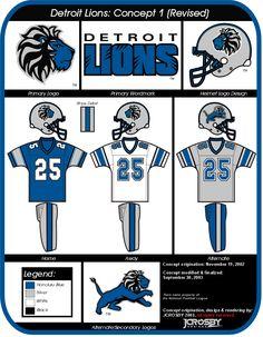 JCrosby Designs : Detroit Lions College Football Uniforms, Nfl Football, Football Helmets, Nfl Apparel, Philadelphia Eagles Super Bowl, Detroit Lions, National Football League, Home And Away, Restore