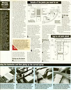 Half Moon Hall Table Plans - Furniture Plans and Projects - Woodwork, Woodworking, Woodworking Plans, Woodworking Projects Woodworking Plans, Woodworking Projects, Table Plans, Furniture Plans, Told You So, Floor Plans, Moon, How To Plan, Chairs