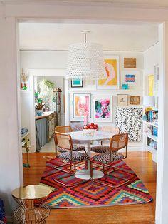 M s de 1000 ideas sobre casas bohemias en pinterest - Decoracion alfombras salon ...
