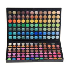RoseFlower® Pro 168 Colors Eyeshadow Makeup Palette Cosemetic Contouring Kit no.1 - Ideal for Professional and Daily Use ** See this great product.