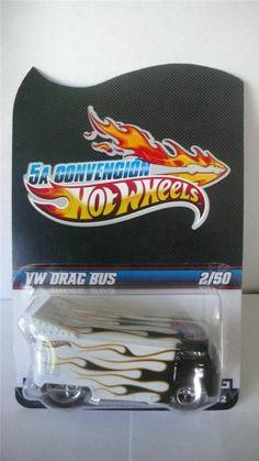 2012 Hot Wheels Mexico 5th Convention VW Drag Bus 2/50