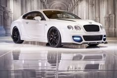 2006 Bentley Continental GT in White...I'm in love~