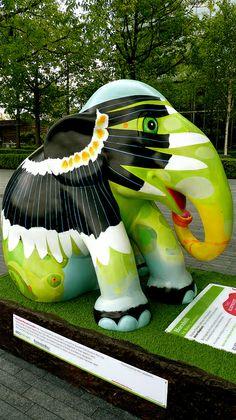 London Elephant Parade.