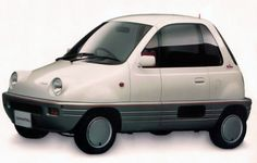 http://chicerman.com  carsthatnevermadeit:  Daihatsu Sneaker 1989. A concept micro-car with a tiny fifth wheel at the rear to assist parking in tight spots  #cars