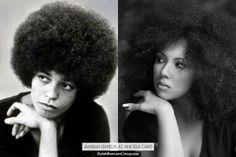 Top Digital Influencers Recreate Legendary Images of Black History Icons in #WeAreBlackHistoryBONY.COM SENIOR EDITOR JAMILAH LEMIEUX AS ANGELA DAVIS