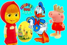 Donald Duck Masha i Medved Peppa Pig open surprise eggs Spongebob Candy eggs Toys Usa https://www.youtube.com/watch?v=1VGtw4e_0GU