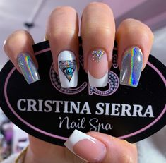 Unique And Fashion Acrylic Square Nails Designs You Need Copy – Page 3 Perfect Nails, Gorgeous Nails, Pretty Nails, Square Nail Designs, Pretty Nail Designs, Nagel Bling, Yellow Nail Art, Acrylic Nails Coffin Short, Manicure E Pedicure