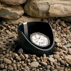 Kichler 9 Light 12.4W 10 Degree 12V LED Well Light - Textured Black