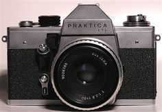 Praktica LTL - 1971 - my first TTL [through the lens] - SLR [single lens reflex]. Not that well built at all, but was in my price range and used Pentax lenses.