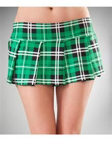 Green School Girl Kilt http://adultlittlegirl.com
