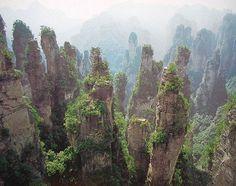 Montaña Tianmen Zhangjiajie - Buscar con Google