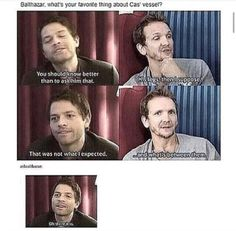 Oh gosh, Sebastian!!! You flirt!