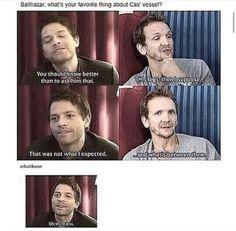 Oh gosh, Sebastian!!! You flirt!