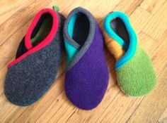 Upcycled Crossover Slippers