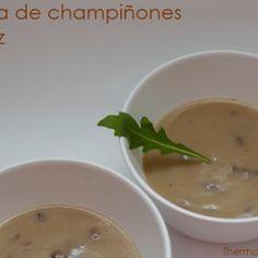Vista previa del artículo Crema de champiñones y arroz