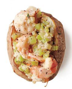 Shrimp Chowder Potato Recipe