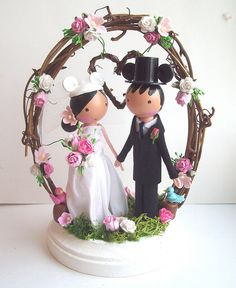my wedding cake toppers