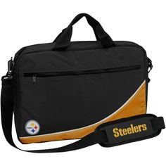 Pittsburgh Steelers Laptop Carry Case - Black