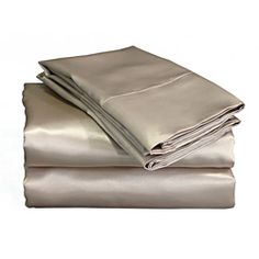 @Overstock.com - Charmeuse II Mocha Satin Sheet Set - These luxurious Charmeuse satin sheets offer superior drape and a silky touch. These mocha satin sheets are like lingerie for your bed.  http://www.overstock.com/Bedding-Bath/Charmeuse-II-Mocha-Satin-Sheet-Set/6813396/product.html?CID=214117 $26.99
