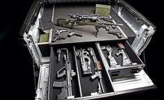 Truck Bed Gun Storage