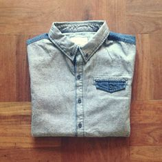 Brand new 8 ounce Denim base for our short sleeve shirts Denim Button Up, Button Up Shirts, Sgt Pepper, News 8, Working Class, Men's Style, That Look, Base, Brand New