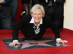 ☆★☆ Glenn Close In Hollywood Walk in 12/01/2009 Embracing Its Star ☆★☆