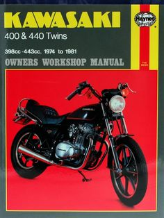 If you own a kawasaki bike and wish to perform anything from routine haynes m281 repair manual for 1974 81 kawasaki 400 440 fandeluxe Choice Image