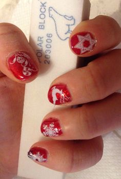 Lechat mood + stamps Chrismas Nail Art, Stamps, Mood, Nails, Beauty, Seals, Finger Nails, Ongles, Postage Stamps