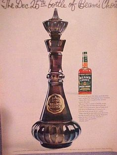 "1964 special edition Jim Beam is what they used for the ""I Dream of Jeannie"" bottles!"