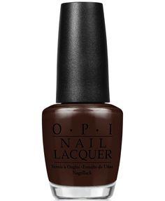 Opi Nail Lacquer, Shh... It's Top Secret