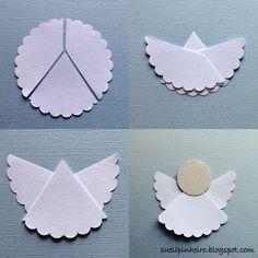 Paper Angel Picture Tutorialangelitos de papel