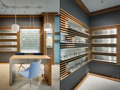 Thomas Opticien Optical shop by Pisi Design Studio, Paris