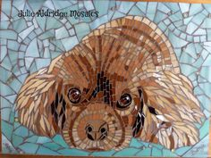 Benji | Commission of a cocker spaniel Benji. Glass and mill… | Flickr