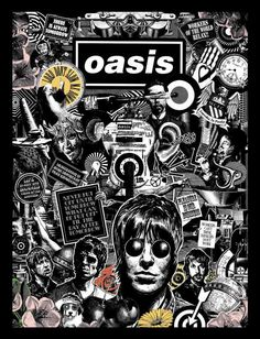 """""""Whatever"""" is a song and single by Oasis, and initially credited as being written by the band's lead guitarist Noel Gallagher. A subsequent lawsuit awarded a co-writing credit to Neil Innes. Oasis Band, Lookscreen Iphone, Oasis Album, Retro Band, Rock Poster, Band Wallpapers, Pop Rock, Band Posters, Poster Prints"""