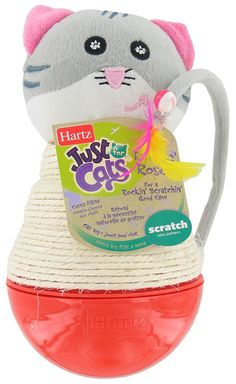 Hartz 13068 Rockin Roco Just for Cats Cat Toy * Check out this great product. (This is an affiliate link and I receive a commission for the sales)