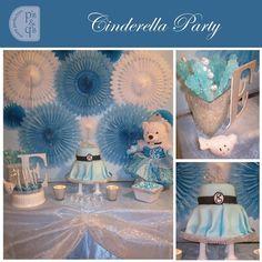 Gorgeous inspire Cinderella desert table!!