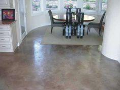 pisos cemento 1 cocina Arquitectura Furniture, House, Interior, Home, Concrete Floors, Dining Table, Table, Interior Floor, Flooring