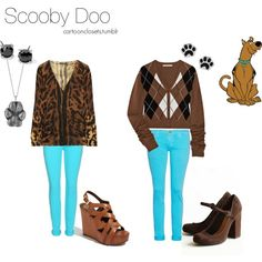 More Scooby Doo ahahaha! Cartoon Outfits, Cartoon Fashion, Disney Character Outfits, Disney Characters, Scooby Doo Costumes, Future Clothes, Fandom Fashion, Fandom Outfits, Casual Cosplay