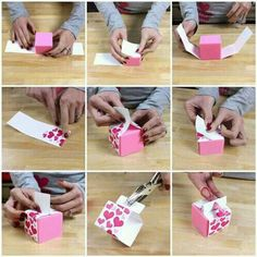 Neat gift wrap idea!